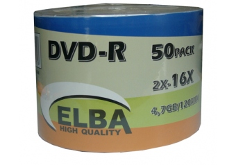 Elba Dvd-r 50Lİ 4,7gb-120min 16x Shrink