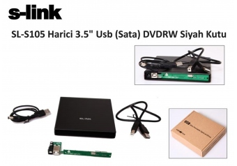 S-link SL-S105 Usb 2.0 Sata Notebook dvd-rw Kutusu