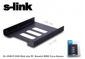 S-link SL-SSD15 Ssd Disk İçin Pc Kasa içi Hdd Yuva Kasası 2,5