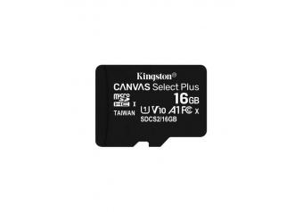 Kingston SDCS2 16GB microSDHC Canvas Select Plus 100R A1 C10 MicroSD Hafıza Kartı