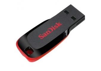 Sandisk SDCZ50-016G-B35 16GB Cruzer Blade Siyah 2.0 USB Flash Bellek