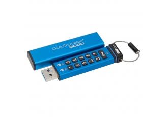 Kingston DT2000 32 Gb USB 3.0 Şifreli 256 bit AES Hardware Encrypted Flash Bellek