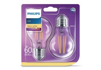 Philips Led Classıc 60w a60 e27 ww cl nd (768587) Sarı