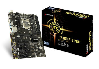 Biostar TB360-BTC PRO Ver.6x 8.9.Nesil LGA 1151 DDR4 2666 M.2 12'li Ekran Girişi HDMI