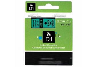Dymo 40919 Yeşil Üzerine Siyah Muadil Etiket