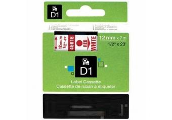 Dymo 45015 Beyaz Üzerine Kırmızı Muadil Etiket
