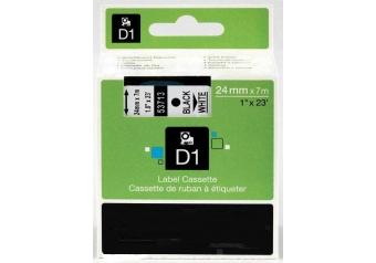 Dymo 53713 Beyaz Üzerine Siyah Muadil Etiket