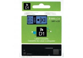 Dymo 40916 Mavi Üzerine Siyah Muadil Etiket