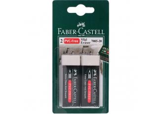 Faber Castell Plastik Silgi 2'li Paket