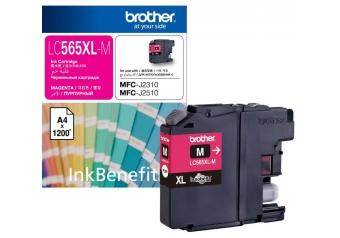 Brother LC565XL Kırmızı Orjinal Kartuş