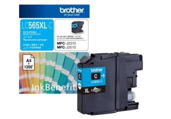 Brother LC565XL Mavi Orjinal Kartuş