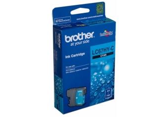 Brother LC67HY-C Orjinal Mavi Kartuş