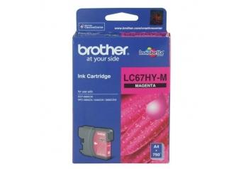 Brother LC67HY-M Orjinal Kırmızı Kartuş
