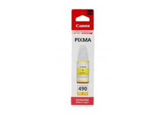 Canon GI-490 Sarı Orjinal Mürekkep