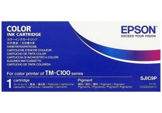Epson SJIC9-C33S020410 Renkli Orjinal Kartuş