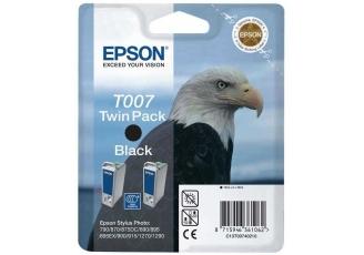 Epson T007 C13T00740220 Orjinal Siyah Kartuş 2'Li