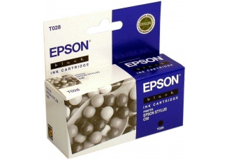 Epson T028 C13T02840120 Orjinal Siyah Kartuş