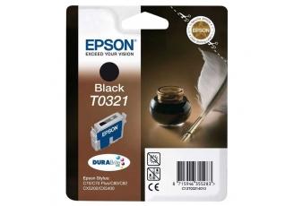 Epson T0321 C13T03214020 Orjinal Siyah Kartuş