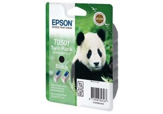 Epson T0501 C13T05014220 Orjinal Siyah Kartuş 2'Li