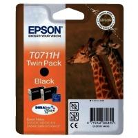 Epson T0711H-C13T07114H20 Orjinal Siyah Kartuş 2'li