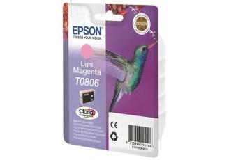 Epson T0806-C13T08064020 Orjinal Açık Kırmızı Kartuş
