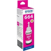 Epson T6643 C13T66434A Orjinal Kırmızı Mürekkep