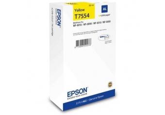Epson T7554-C13T755440 Sarı Orjinal Kartuş
