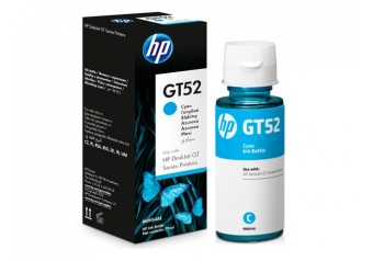 Hp GT52-M0H54AE Mavi Orjinal Mürekkep