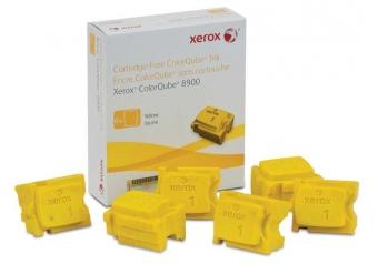 Xerox ColorQube 8900-108R01024 Sarı Orjinal Kartuş - 6'Lı