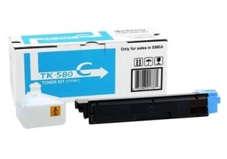 Kyocera Mita TK-580 Mavi Orjinal Toner