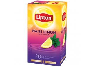 Lipton Bardak Poşet Bitki Çayı Nane Limon