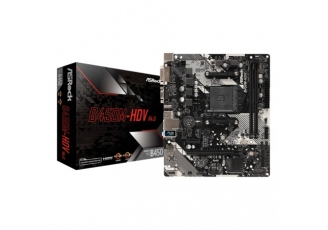 Asrock B450M-Hdv R4.0 Socket Am4, Ddr4 3200Mhz+ (O Anakart)