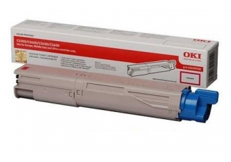 Oki C3300-43459346 Kırmızı Orjinal Toner