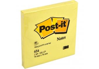 Post-it 654Y Yapışkanlı Not Kağıdı
