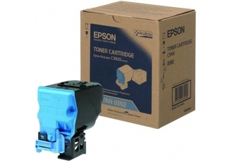 Epson CX-37/C13S050592 Mavi Orjinal Toner