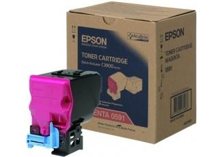 Epson CX-37/C13S050591 Kırmızı Orjinal Toner