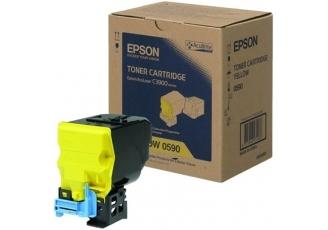 Epson CX-37/C13S050590 Sarı Orjinal Toner