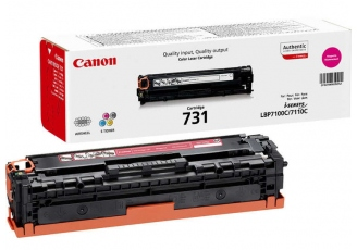 Canon CRG-731 Kırmızı Orjinal Toner