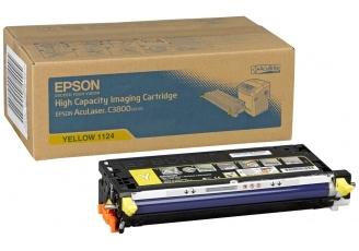Epson C3800 C13S051124 Orjinal Sarı Toner