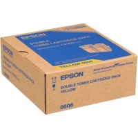 Epson C9300 C13S050606 Orjinal Sarı Toner 2'Li