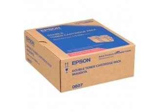 Epson C9300 C13S050607 Orjinal Kırmızı Toner 2'Li