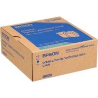 Epson C9300-C13S050608 Orjinal Mavi Toner 2'Li