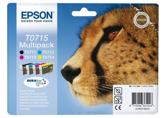 Epson T0715-C13T07154020 Orjinal Avantaj Kartuş Paketi
