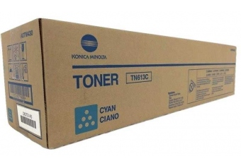 Konica Minolta TN-613 Mavi Orjinal Fotokopi Toner