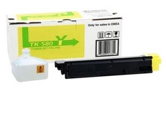 Kyocera Mita TK-580 Sarı Orjinal Toner