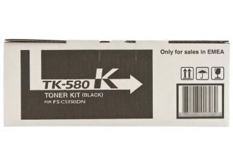 Kyocera Mita TK-580 Siyah Orjinal Toner