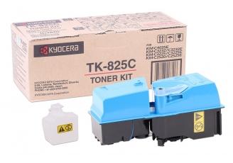 Kyocera Mita TK-825 Mavi Orjinal Toner