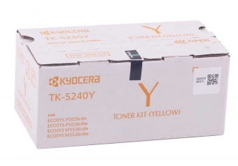 Kyocera Mita TK-5240 Orjinal Sarı Toner