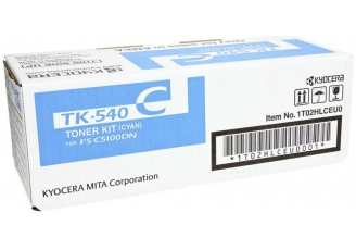 Kyocera Mita TK-540 Mavi Orjinal Toner