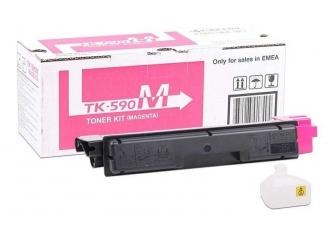 Kyocera Mita TK-590 Kırmızı Orjinal Toner